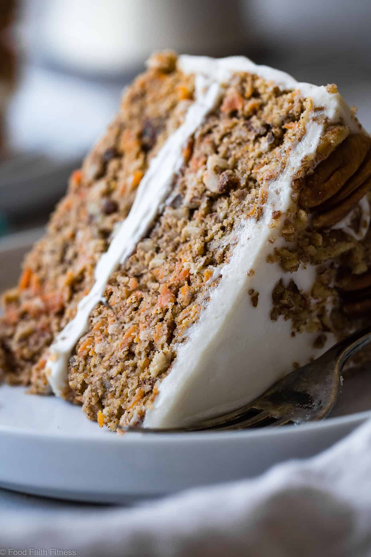 Healthy Carrot Cake  Healthy Gluten Free Sugar Free Carrot Cake