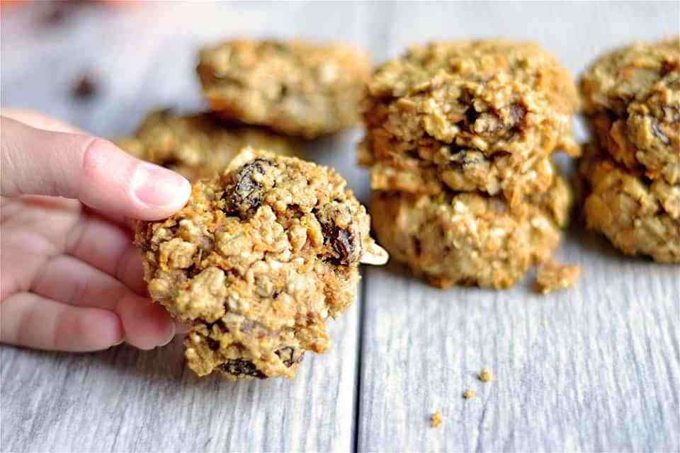 Healthy Carrot Cake Cookies  Healthy Carrot Cake Breakfast Cookies Wholesomelicious