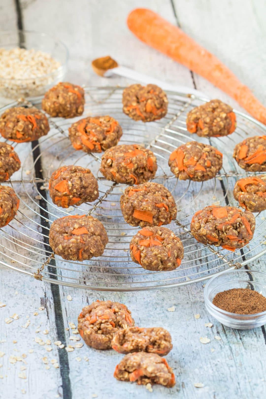Healthy Carrot Cake Cookies  Healthy Carrot Cake Cookies Kroll s Korner