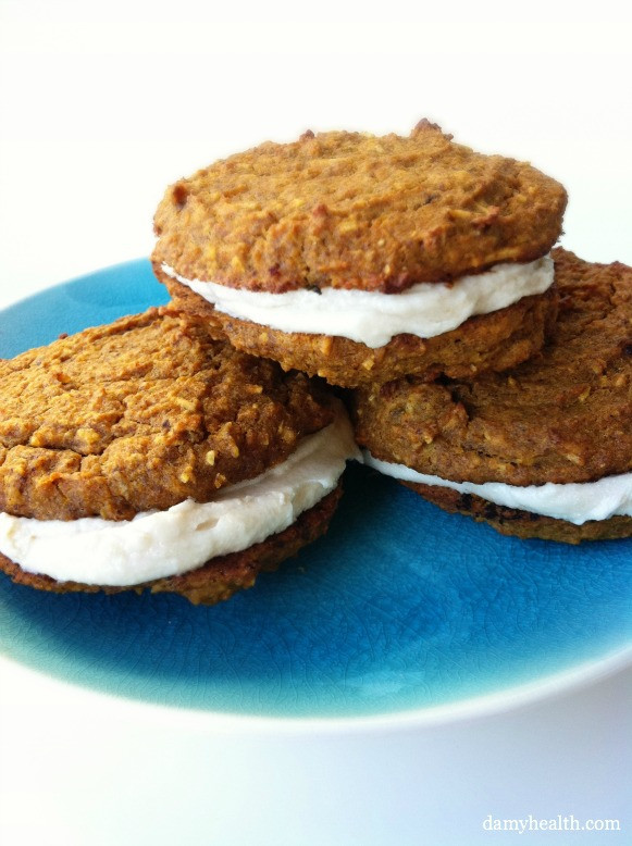 Healthy Carrot Cake Cookies  Clean Carrot Cake Cookies Flourless & Gluten Free