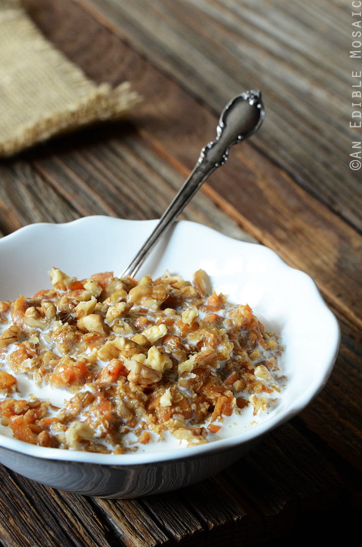 Healthy Carrot Cake Oatmeal  Carrot Cake Oatmeal Recipe