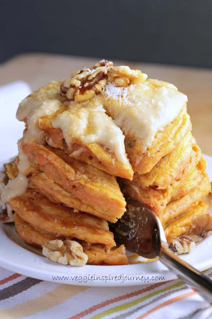 Healthy Carrot Cake Pancakes  10 Quick And Healthy Dessert Recipes For Busy People