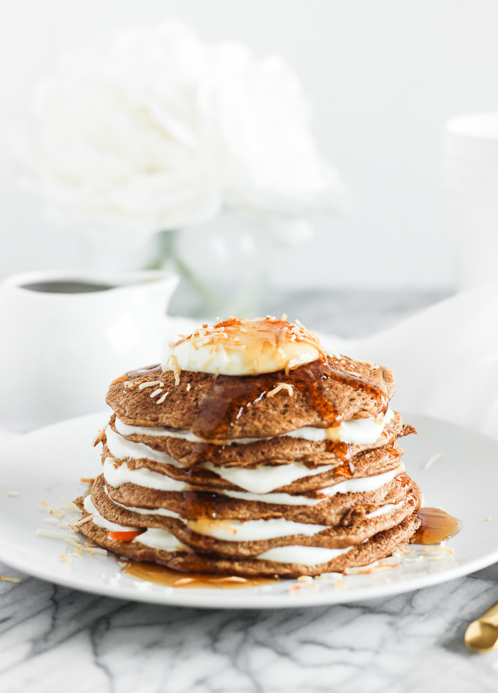 Healthy Carrot Cake Pancakes  Healthy Carrot Cake Pancakes Lively Table