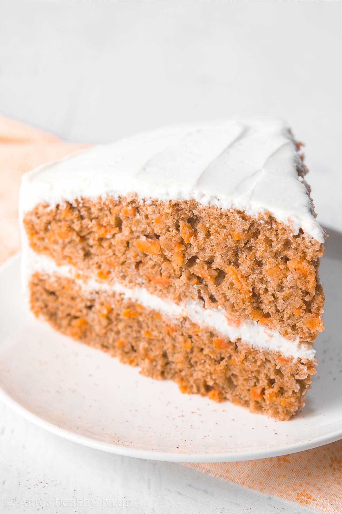 Healthy Carrot Cake Recipe With Applesauce  The Ultimate Healthy Carrot Cake With a Step by Step