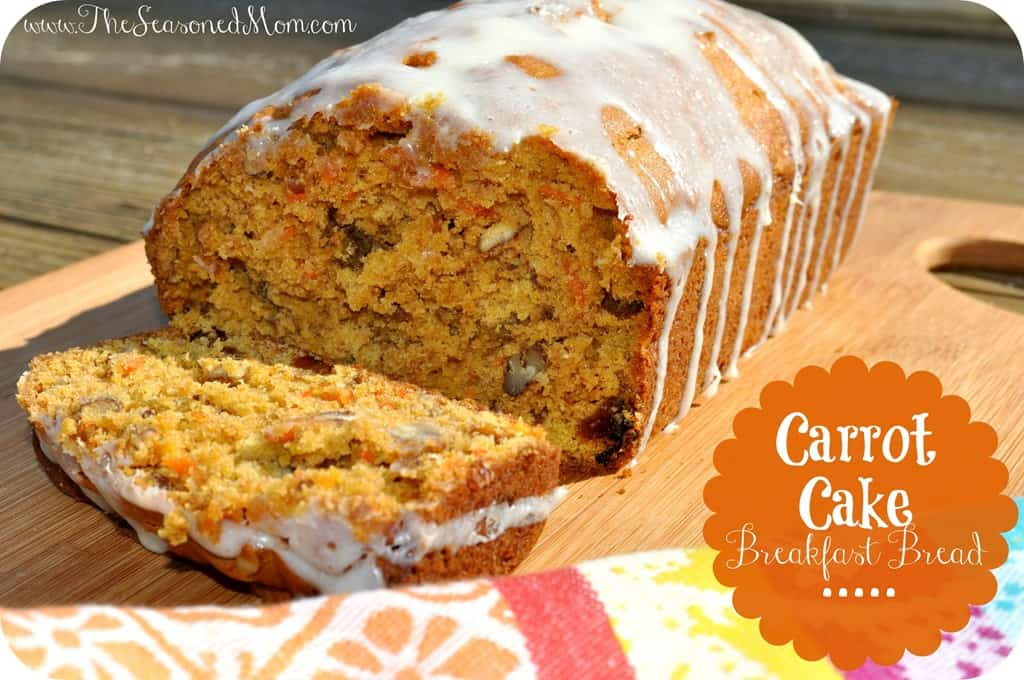 Healthy Carrot Cake Recipe With Applesauce  Carrot Cake Breakfast Bread The Seasoned Mom