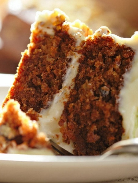 Healthy Carrot Cake Recipe With Applesauce  Healthy Carrot Cake Recipe by Nathan CookEat