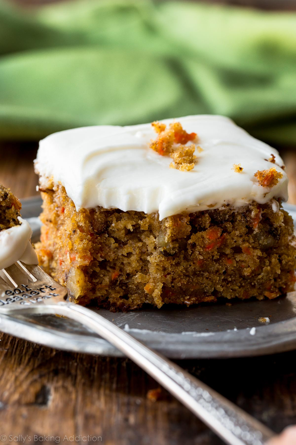 Healthy Carrot Cake Recipe With Pineapple  Pineapple Carrot Cake with Cream Cheese Frosting Sallys