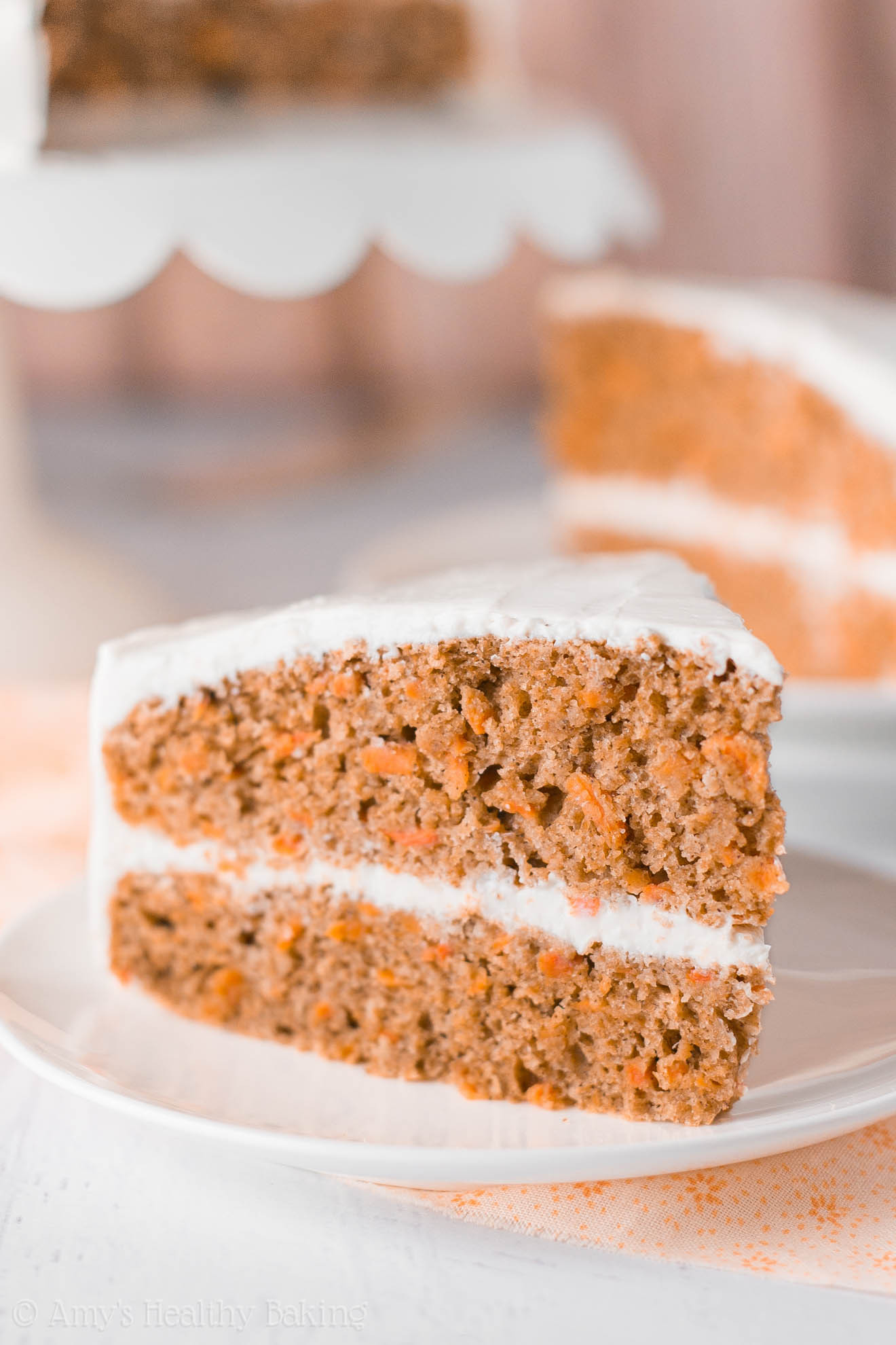 Healthy Carrot Cake  The Ultimate Healthy Carrot Cake