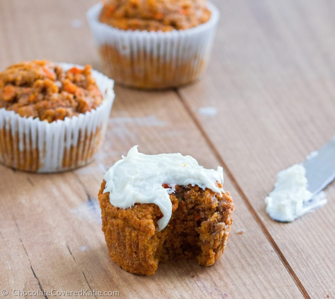 Healthy Carrot Cupcakes  Healthy Carrot Cake Cupcakes Low calorie Low fat
