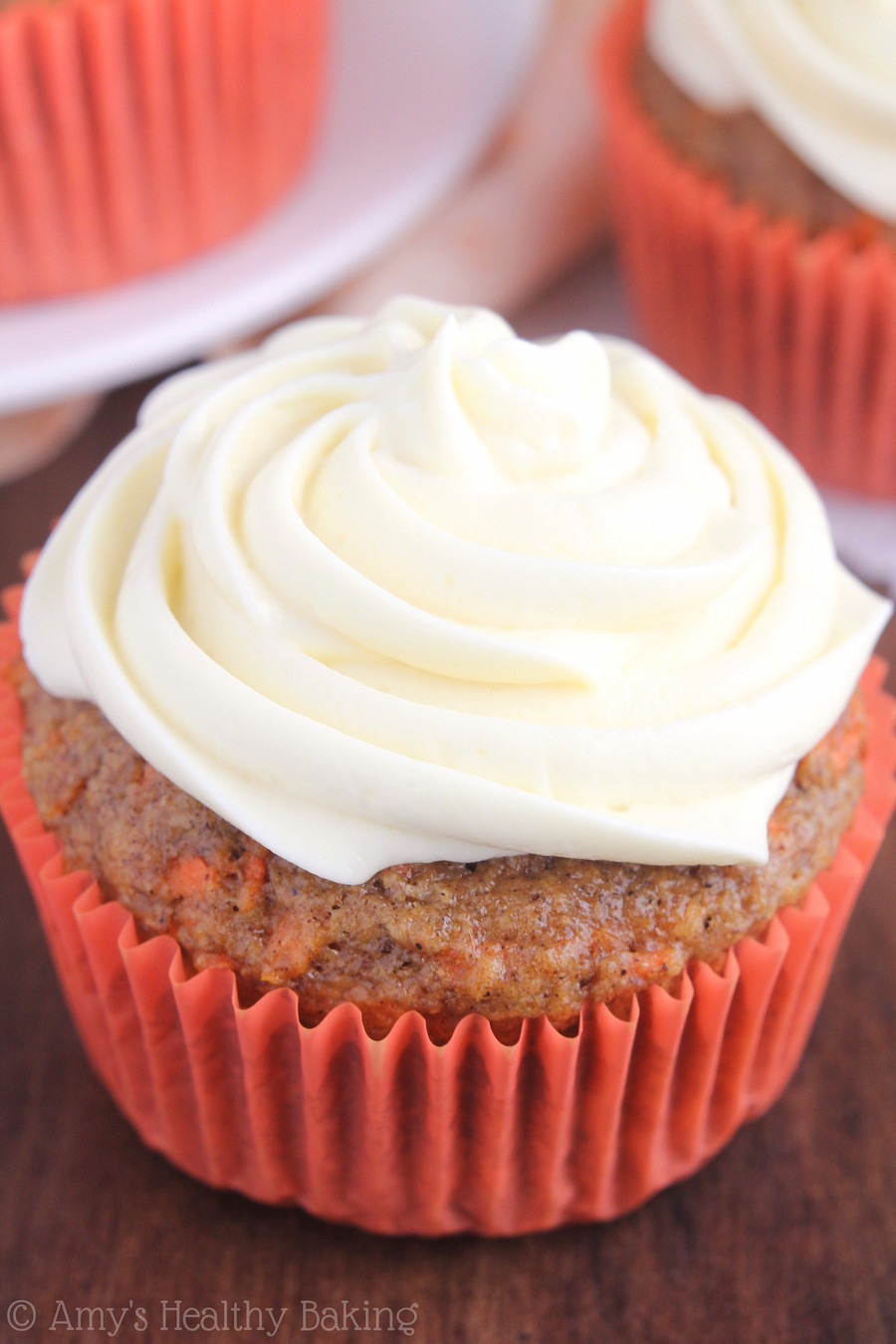 Healthy Carrot Cupcakes  Classic Carrot Cake Cupcakes