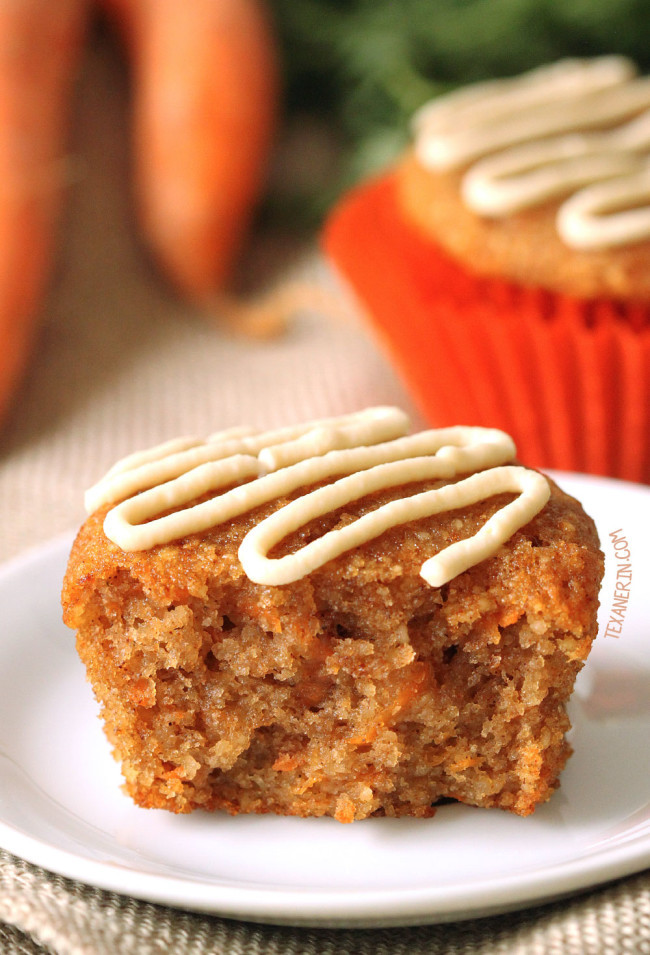 Healthy Carrot Recipes  zucchini carrot cake muffins