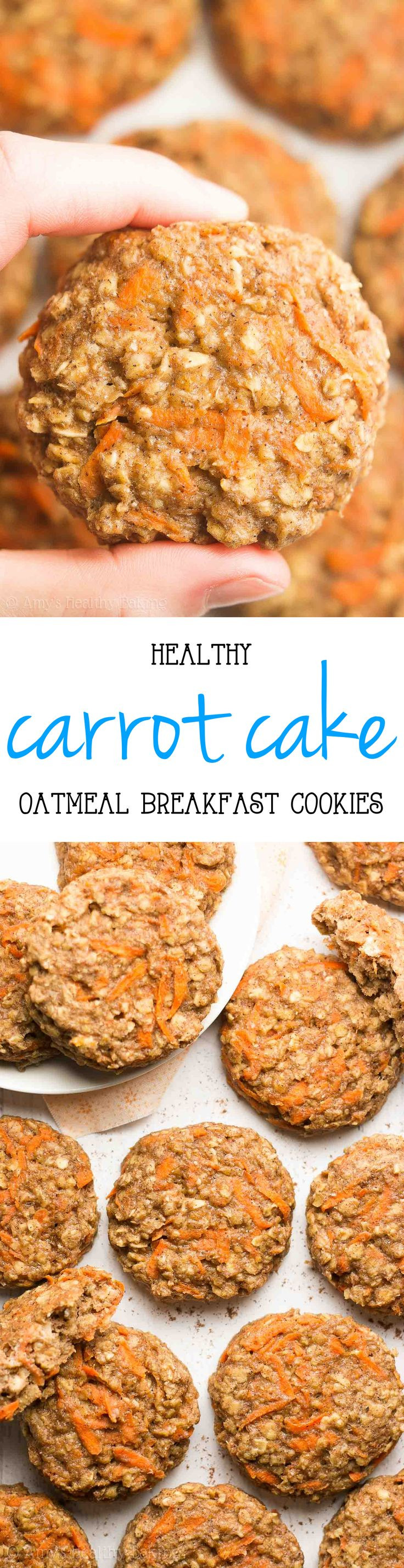 Healthy Carrot Recipes  15 best ideas about Healthy Cookies on Pinterest
