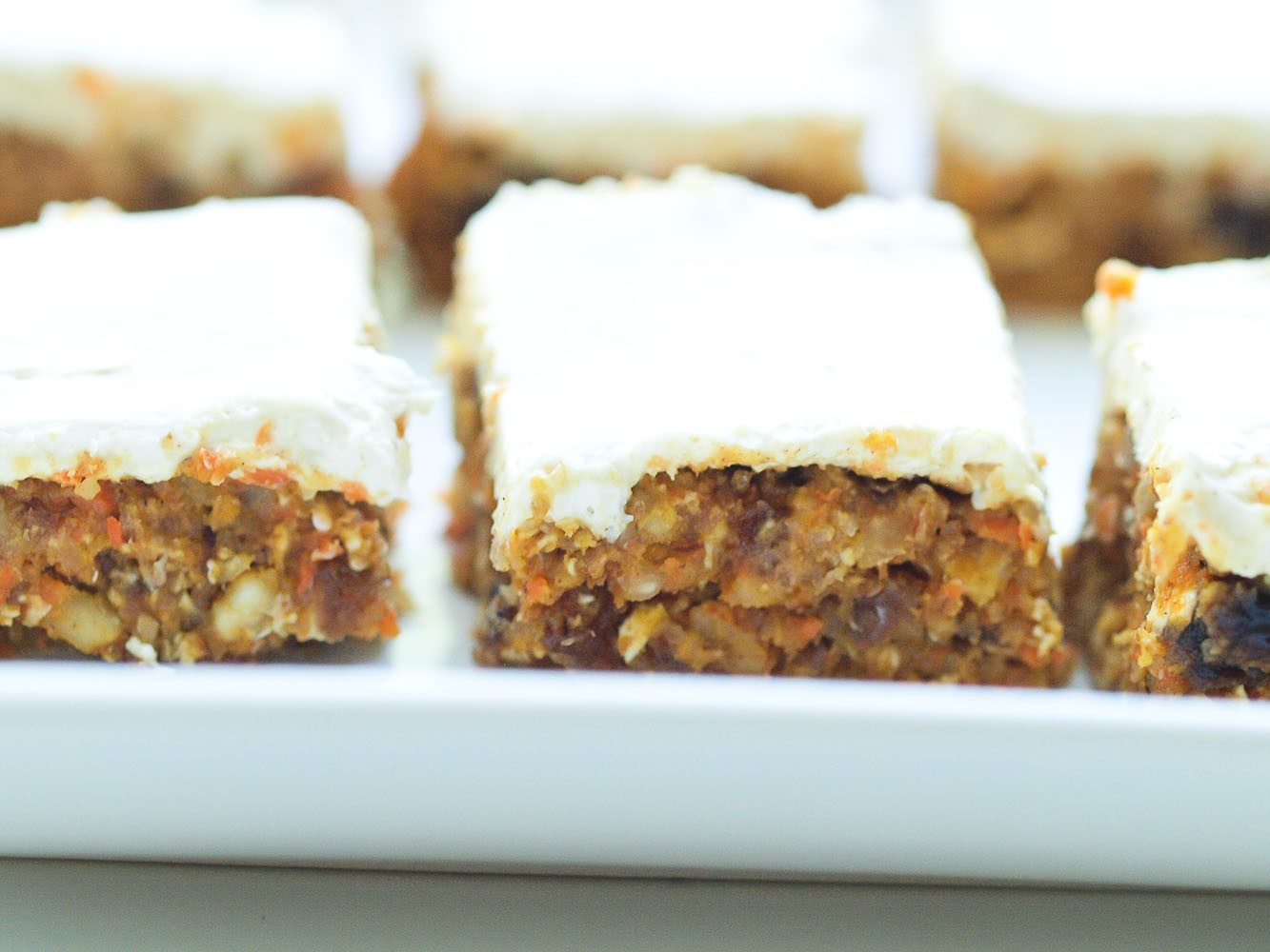 Healthy Carrot Recipes  Healthy No Bake Carrot Cake Bars Happy Healthy Mama