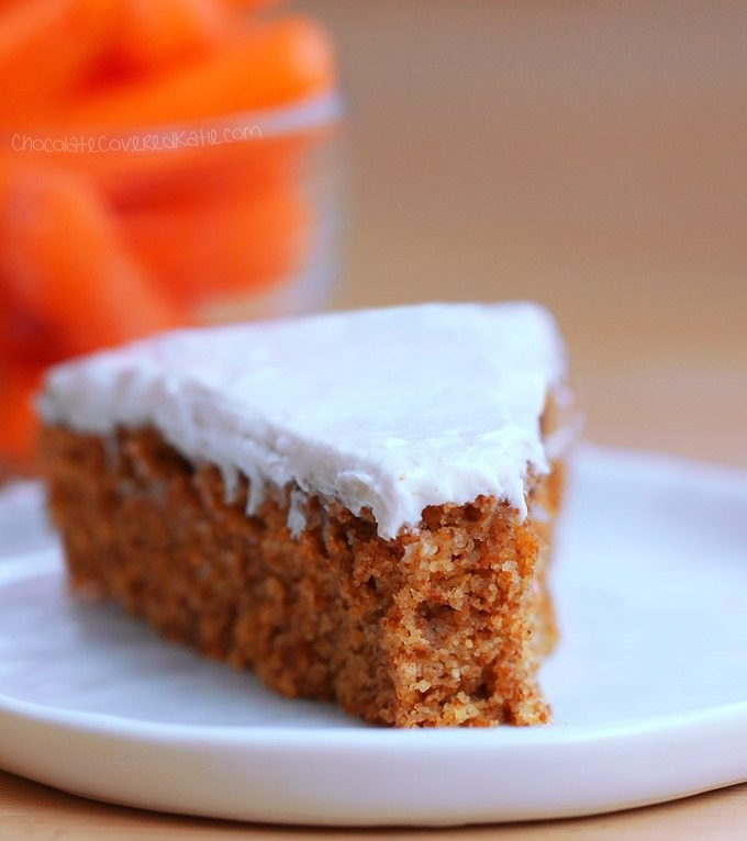 Healthy Carrot Recipes  Healthy Carrot Cake Chocolate Covered Katie