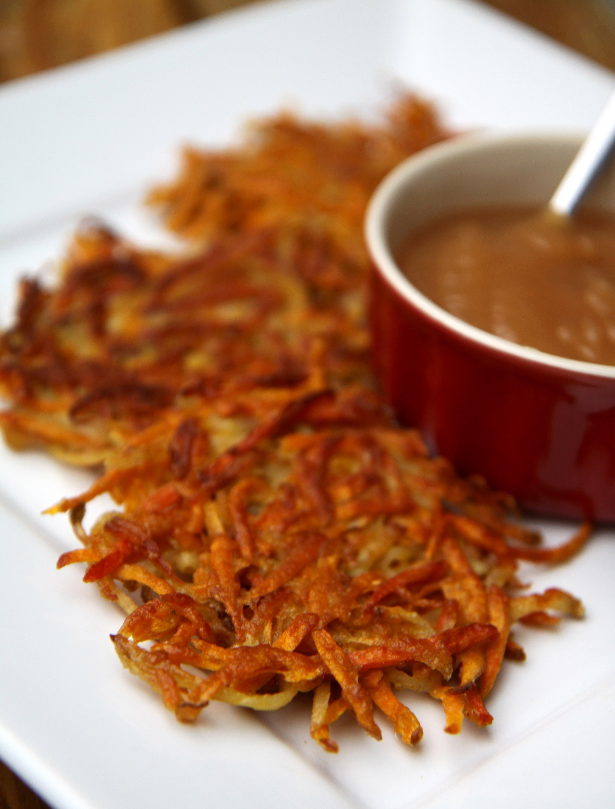 Healthy Carrot Recipes  Sweet Potato and Carrot Latkes
