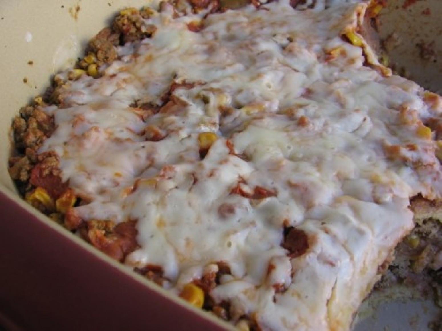Healthy Casseroles With Ground Beef  Slim & Healthy Ground Beef Enchilada Casserole Recipe