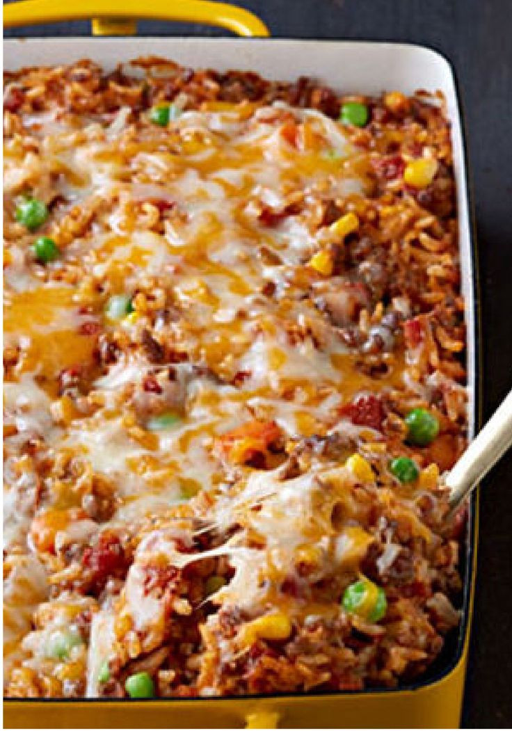 Healthy Casseroles With Ground Beef  100 Kraft Recipes on Pinterest