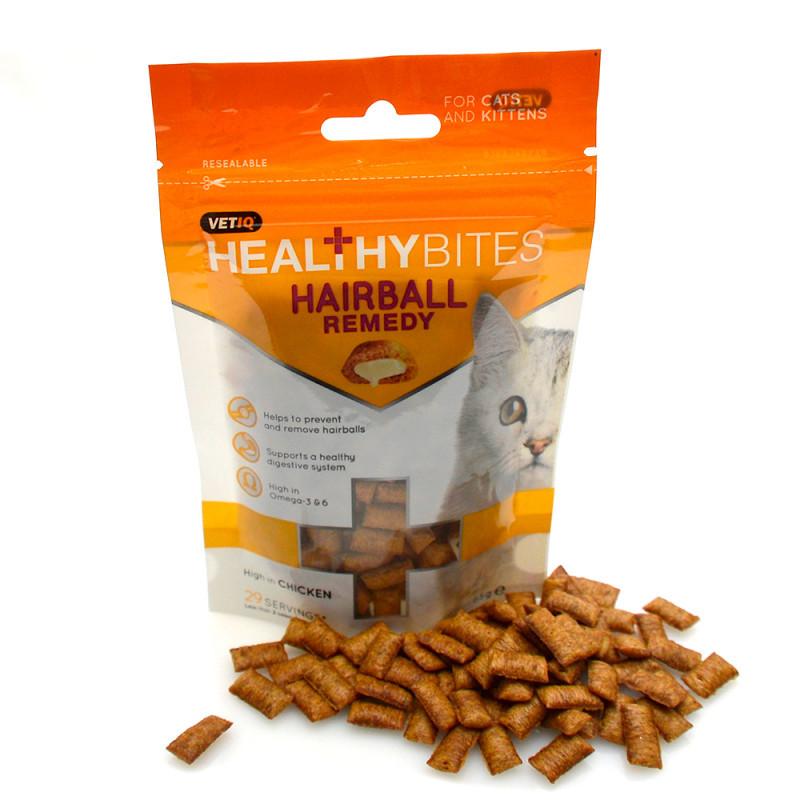 Healthy Cat Snacks  Buy Healthy Bites Hairball Remedy Cat Treats line