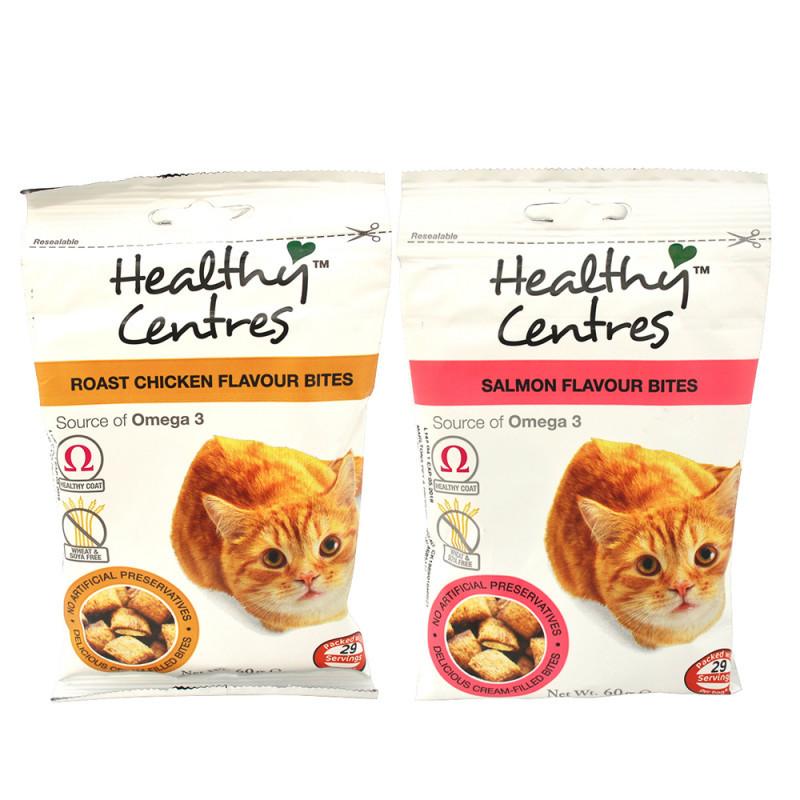 Healthy Cat Snacks  Healthy Centres Bites Cat Treats