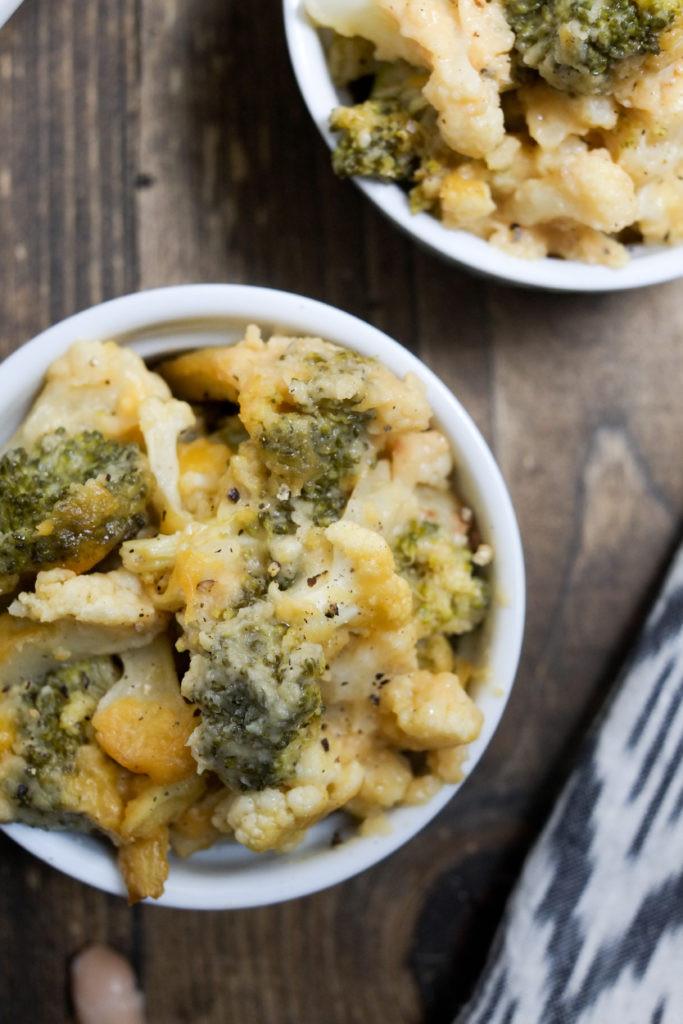 Healthy Cauliflower Casserole  Cheesy Broccoli and Cauliflower Casserole Recipe