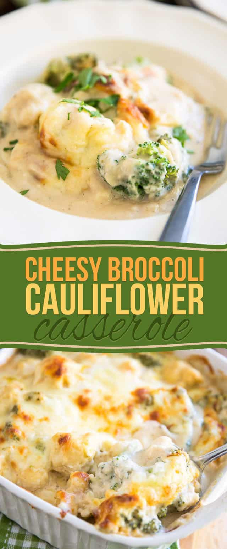 Healthy Cauliflower Casserole  healthy cheesy cauliflower casserole