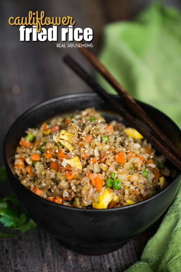 Healthy Cauliflower Fried Rice  Cauliflower Fried Rice ⋆ Real Housemoms