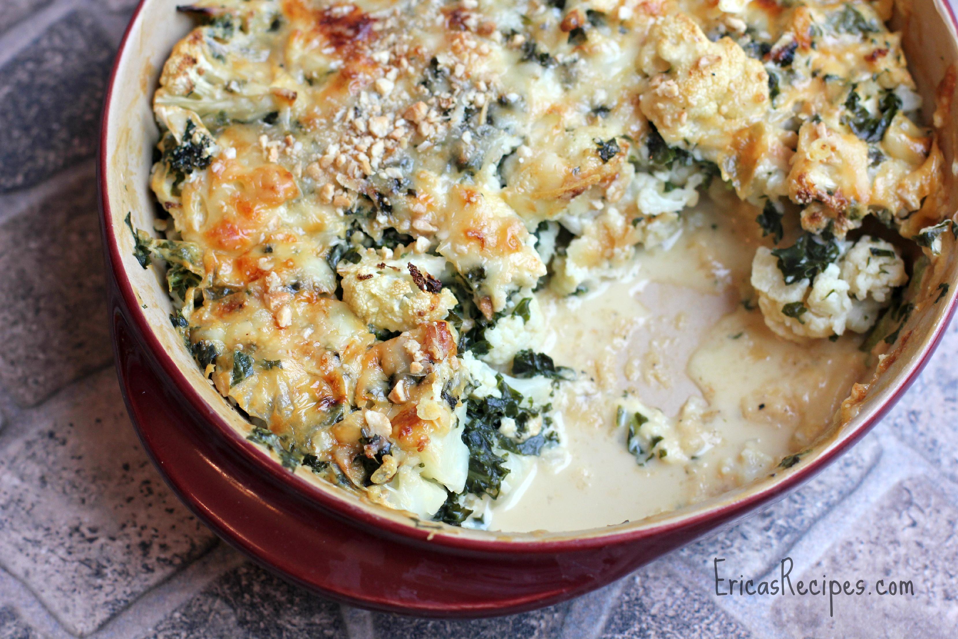 Healthy Cauliflower Recipes  healthy cauliflower bake