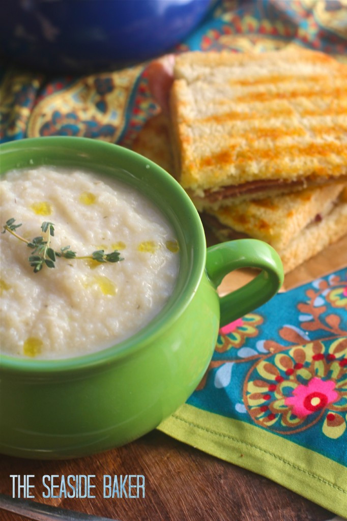Healthy Cauliflower Soup  Fast and Healthy Cauliflower Soup The Seaside Baker