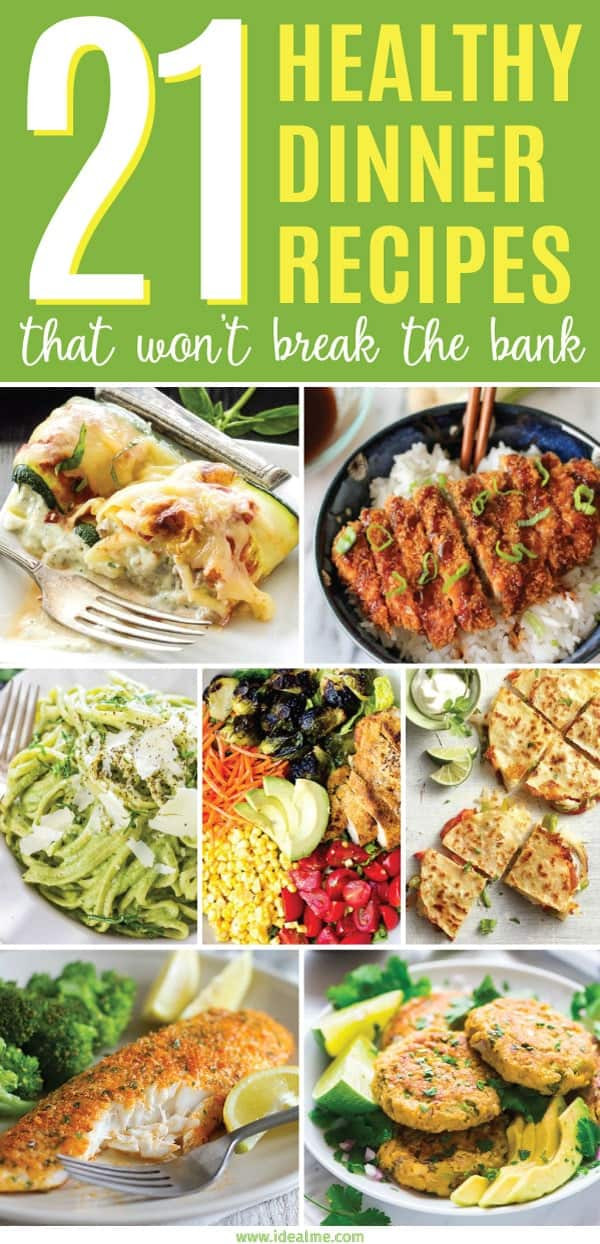 Healthy Cheap Dinner  21 Healthy Dinner Recipes That Won t Break the Bank Ideal Me