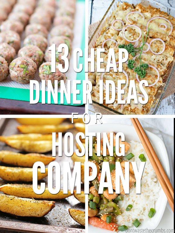 Healthy Cheap Dinner Ideas  13 Cheap Dinner Ideas for Hosting pany on a Bud