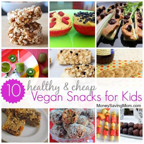Healthy Cheap Snacks  10 Healthy and Cheap Vegan Snacks for Kids Money Saving Mom