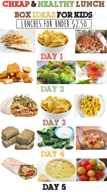 Healthy Cheap Snacks  Cheap & Healthy Lunch Box Ideas For Kids Week 3