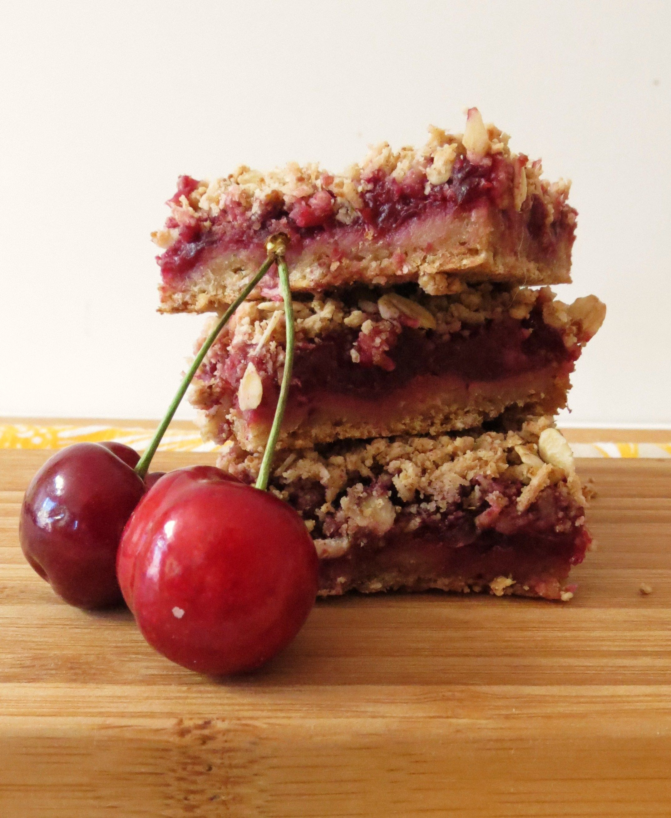 Healthy Cherry Dessert  Cherry Pie Crumble Bars Recipe