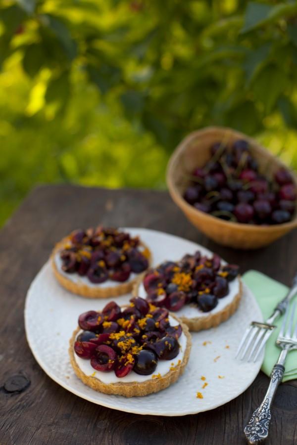 Healthy Cherry Dessert  Healthy Cinnamon Cherry Tart Recipe Eating Richly