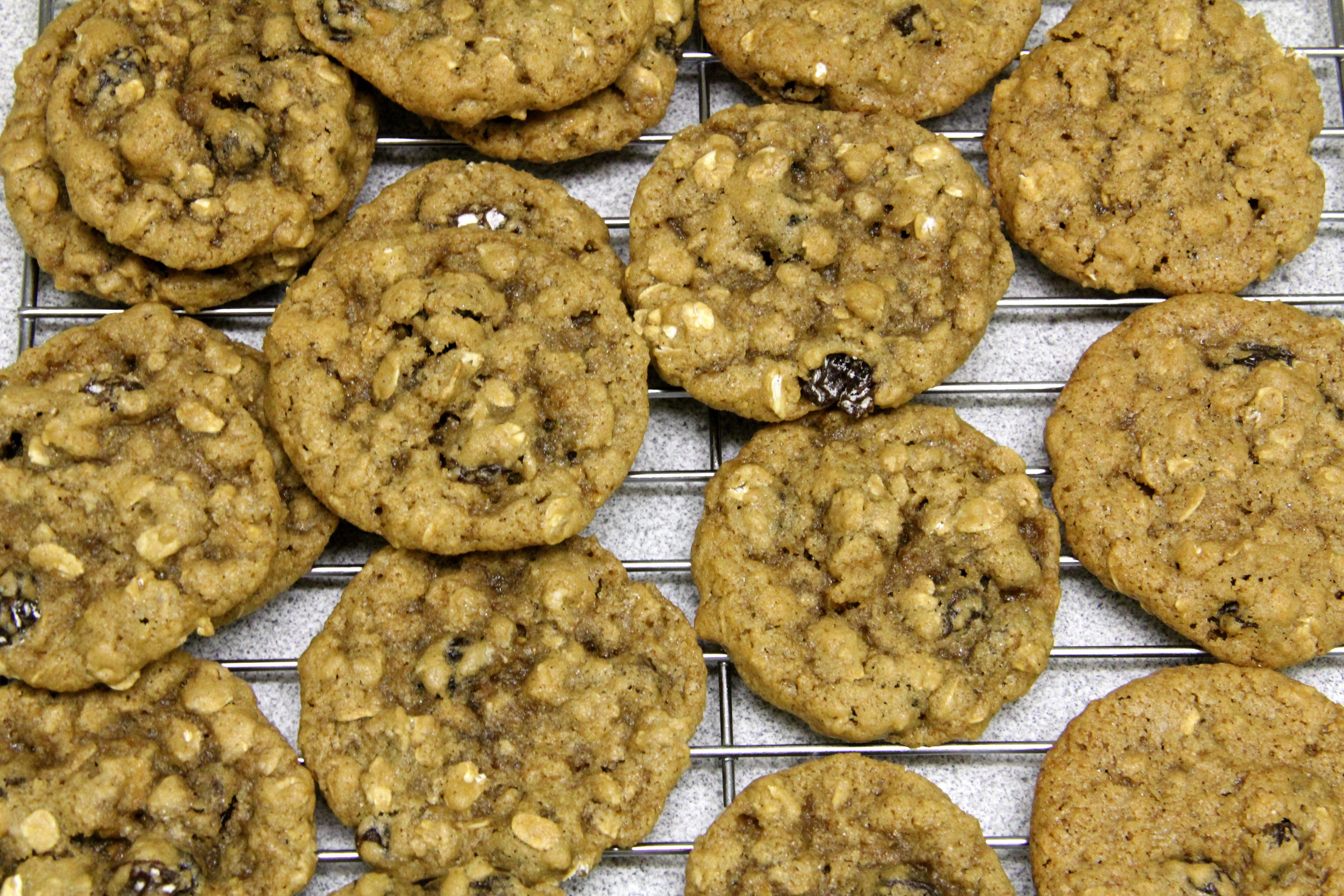 Healthy Chewy Oatmeal Cookies  Chewy Oatmeal Raisin Cookies