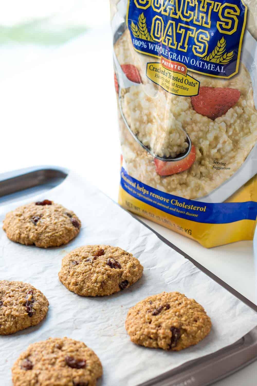 Healthy Chewy Oatmeal Raisin Cookies  Healthy Oatmeal Raisin Cookies Recipe