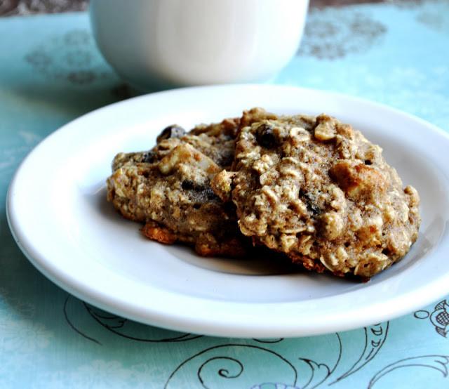 "Healthy Chewy Oatmeal Raisin Cookies  ""Healthier"" Chewy Oatmeal Raisin Cookies 95 Calories"