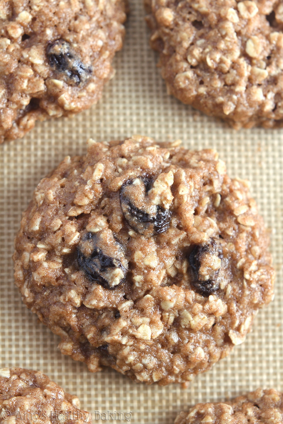 Healthy Chewy Oatmeal Raisin Cookies  The Ultimate Healthy Soft & Chewy Oatmeal Raisin Cookies