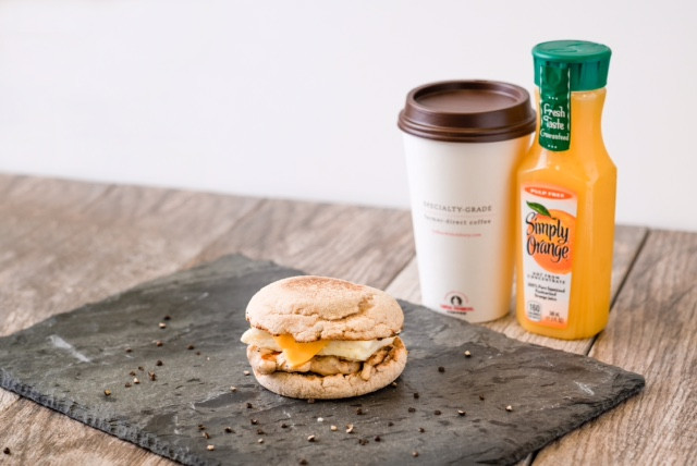Healthy Chick Fil A Breakfast  Our Protein Packed Egg White Grill Breakfast Sandwich