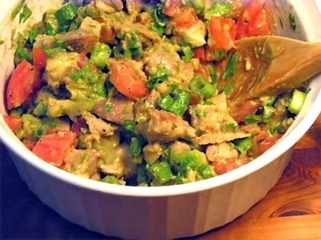 Healthy Chicken And Avocado Recipes  Healthy & Delicious Avocado Chicken Salad Recipe