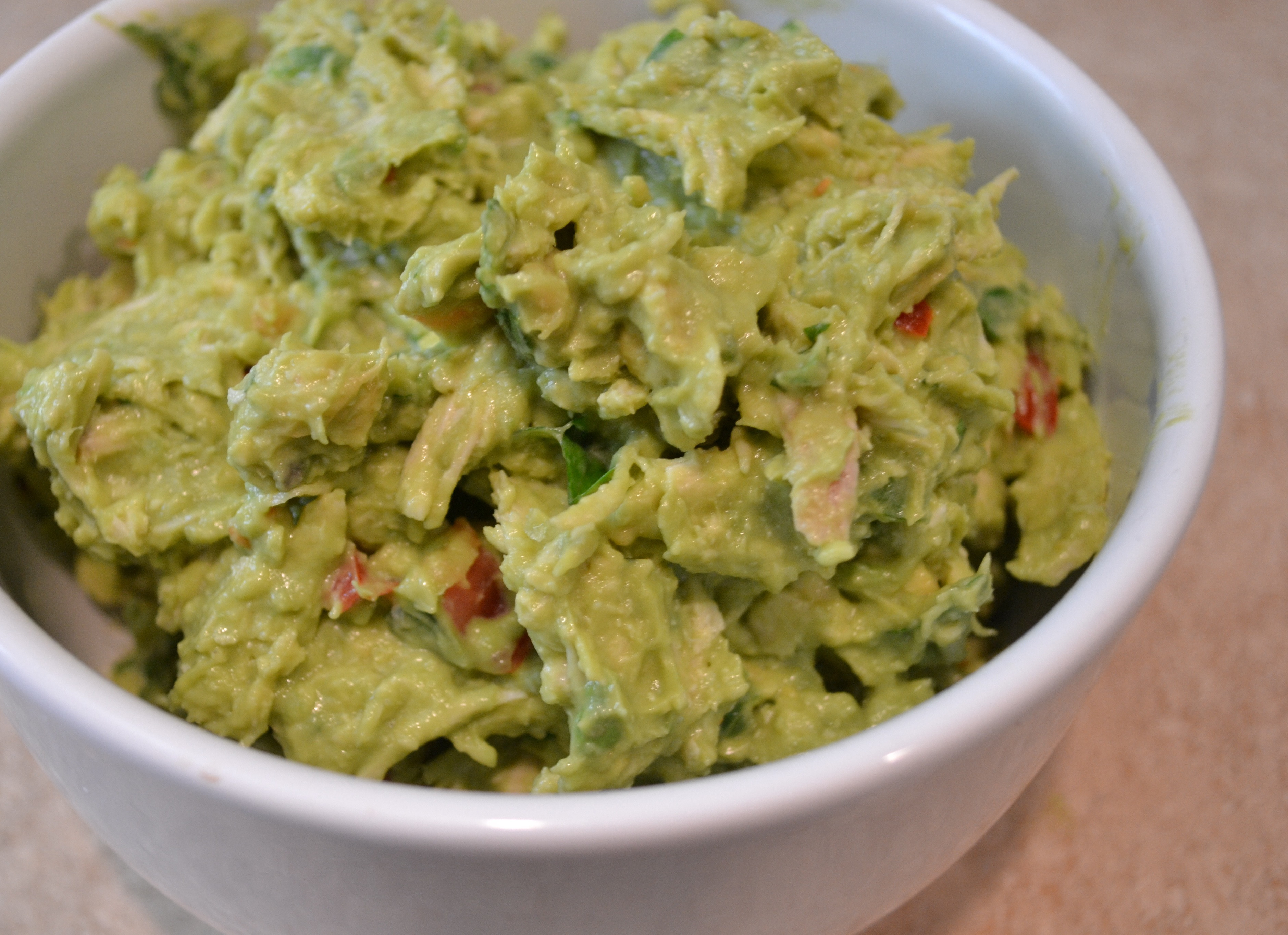 Healthy Chicken And Avocado Recipes  Avocado Chicken Salad The Four Percent