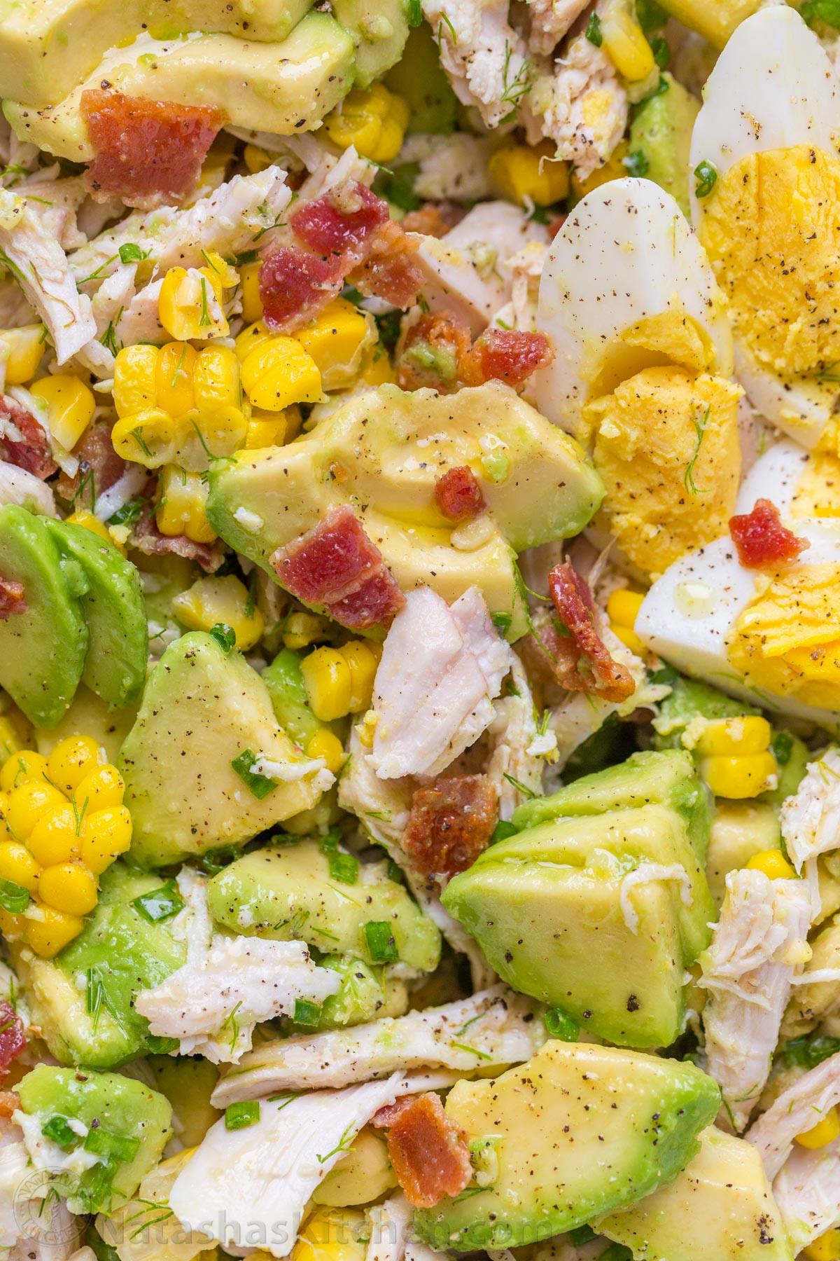 Healthy Chicken And Avocado Recipes  easy avocado chicken salad recipe