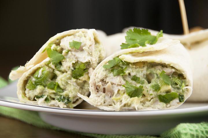 Healthy Chicken And Avocado Recipes  Avocado Chicken Salad