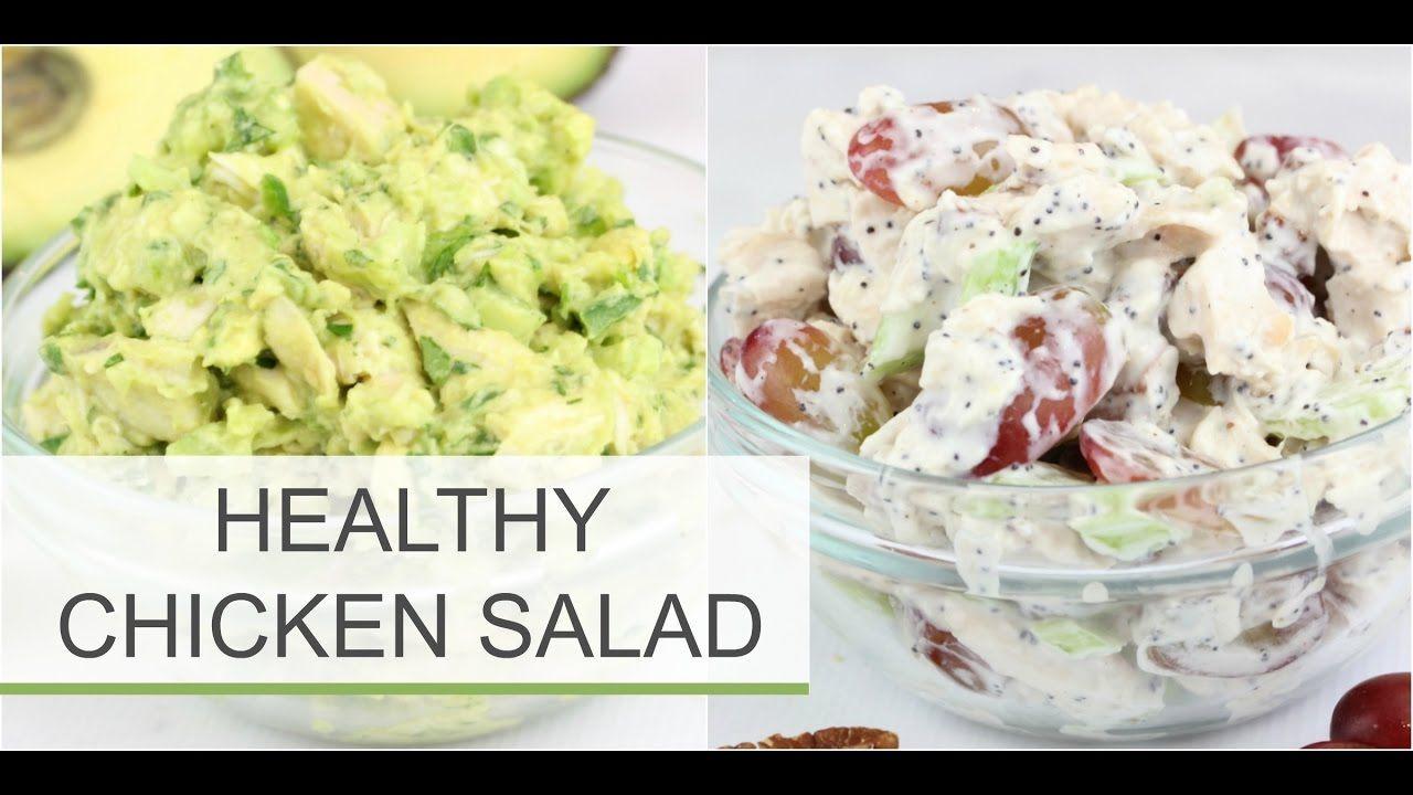 Healthy Chicken And Avocado Recipes  Healthy Chicken Salad Recipe — Dishmaps