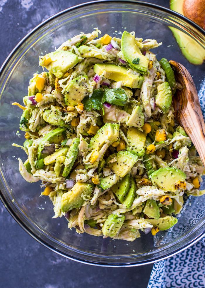 Healthy Chicken and Avocado Recipes the top 20 Ideas About Healthy Avocado Chicken Salad