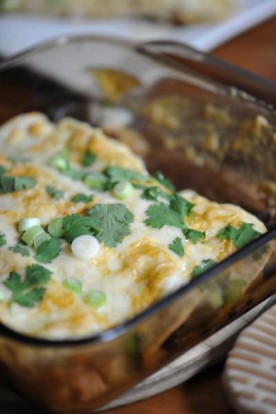 Healthy Chicken And Black Bean Enchiladas  Top 10 Enchilada Recipes Rainbow Delicious