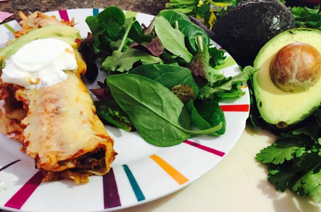 Healthy Chicken And Black Bean Enchiladas  HomeFamilyLove