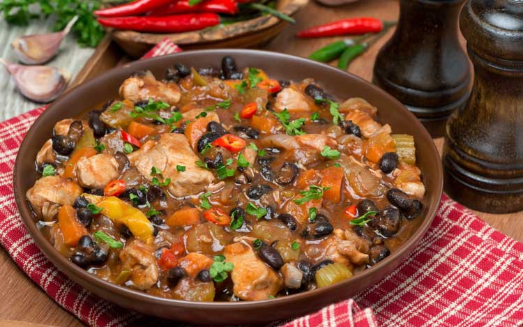 Healthy Chicken And Black Bean Recipes  Black Bean and Chicken Chili Easy Black Beans Recipe