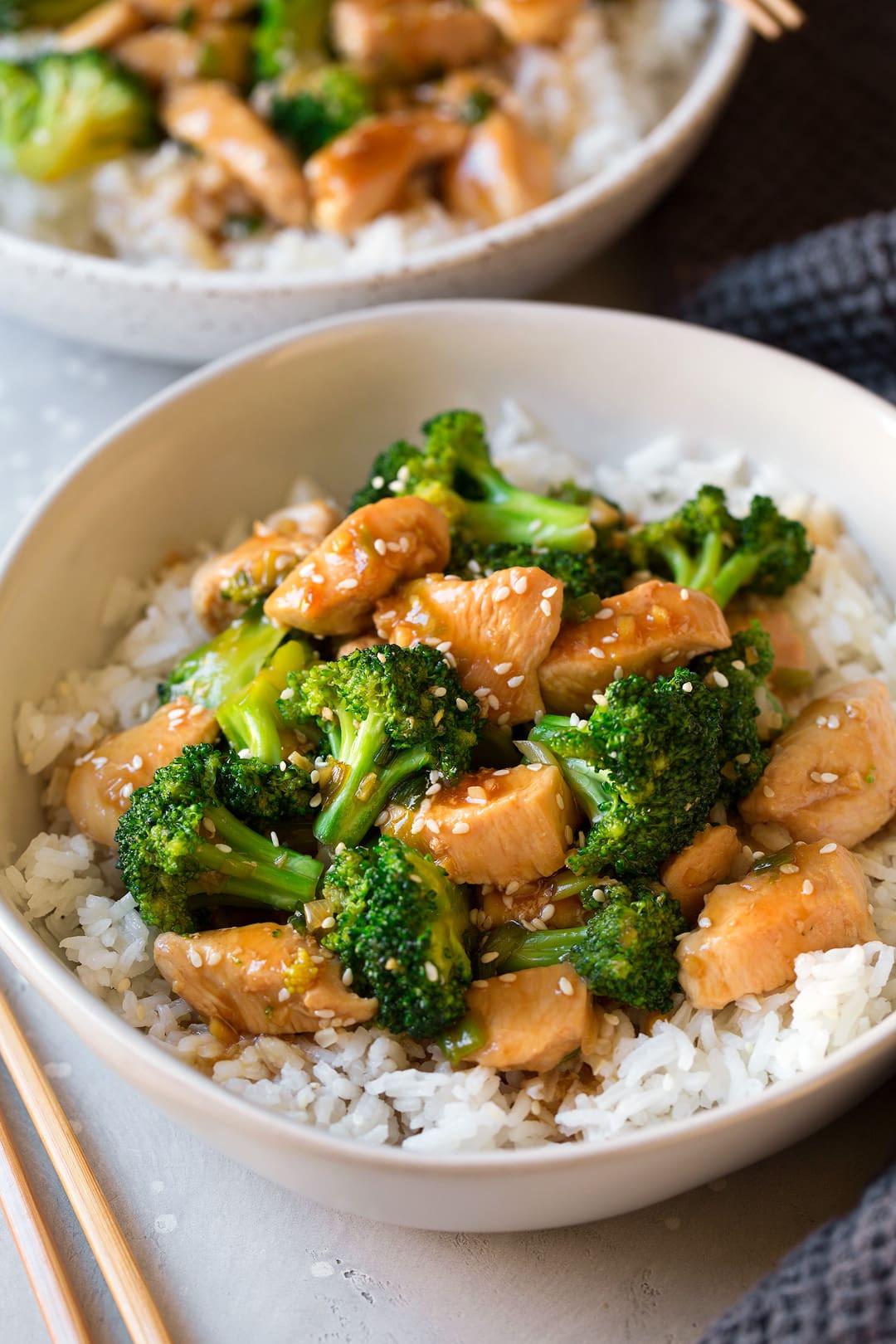 Healthy Chicken And Broccoli Stir Fry  Chicken and Broccoli Stir Fry Cooking Classy