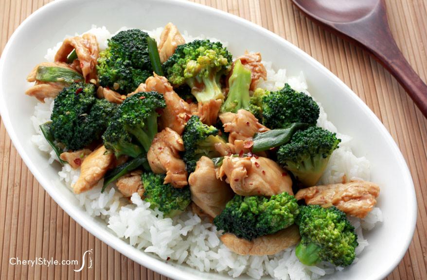 Healthy Chicken And Broccoli Stir Fry  Healthy Chicken and Broccoli Stir Fry Recipe